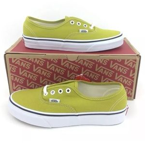 NEW Vans Authentic Cress Green Shoes Sneakers 7.5